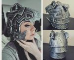 Carved Nordic Armour Helmet by SNEStrogen