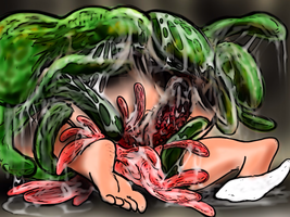 vore horror 1903 by MOLD666