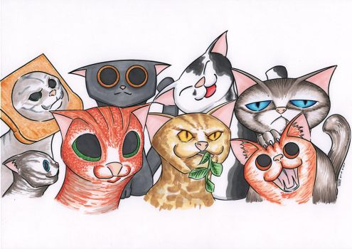tasse chat by LordOver2547