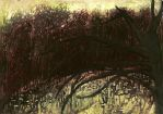 From a notebook, April 12, swamp by lauraverde