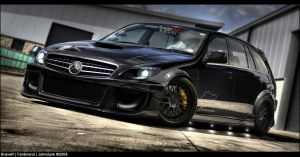 Mercedes Benz C63 AMG Estate by braver-art