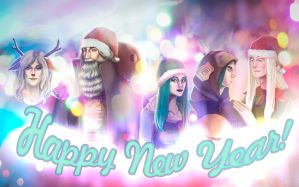 Happy New Year!!! by PolinaLex