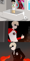homestuck panels by myotishi