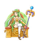 Powerful Palutena by TheBourgyman