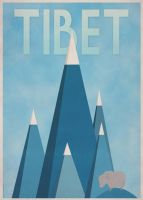 Tibet Poster by surlana