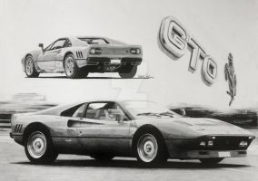 1984 Ferrari 288 GTO (Composition) by RobertoJK