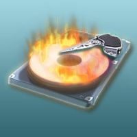 hard drive icon by spider4webdesign