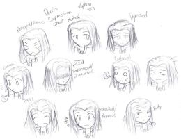 Derris Expression Sheet by Staris-Chan