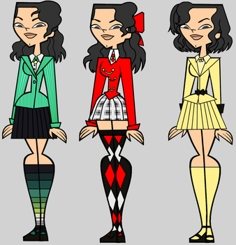 Heather as The Heathers by LinLupin