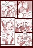 Hawkie Comic Commission part 2 by AbnormallyNice