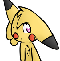 my yourself in pikachu version by TailTehEeveelution