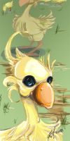 aloha de chocobo by bodysnatched