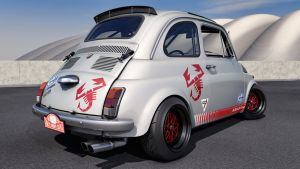 1968 Fiat Abarth 595 by SamCurry