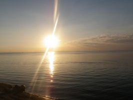 Sun on the Water 2 by Singing-Wolf-12