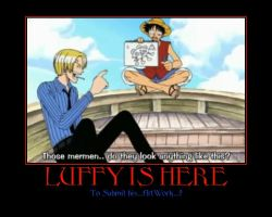 Luffy Motivational Poster2 by caitkitty