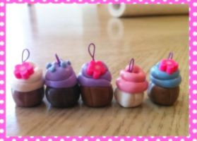 Clay Cuppycakes by supermariposa