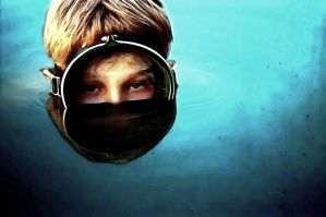 diver boy by vagretirobert