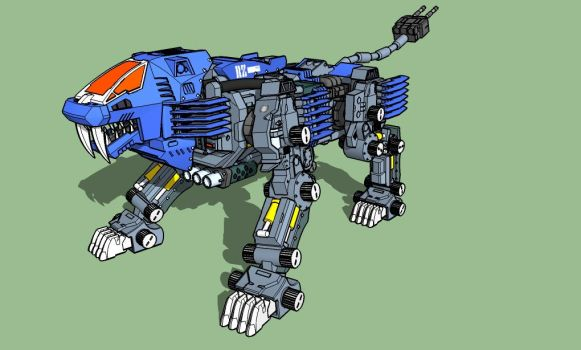 Zoids Shield Liger Zoids favourites by Ia...