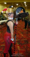 Harley Quinn by Kit at Amazing Las Vegas 2013 by SurfTiki