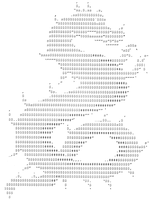 ASCII Dragon by CanEyeballsBounce