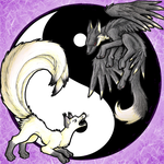 Kitsune of Yin and Yang-remake by ShikaTheFox