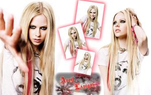 Wallpaper Avril Lavigne 01 by PlopX2