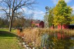 Fall at Bonneyville Mill by beautythroughalens