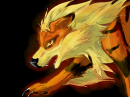 Arcanine9 by TheBreeze1