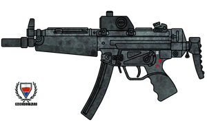 HK Mp5A3 by CzechBiohazard