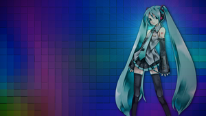 Miku Wallpaper by Sonickyle27