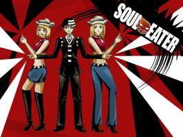Soul Eater Wallpaper by ElrithRydrine
