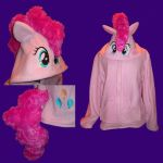 My Little Pony FIM Pinkie Pie cosplay hoodie by Bahzi