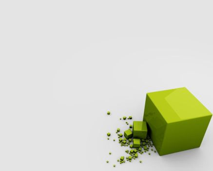 Green Cubes 2 by sandstorm