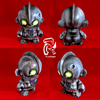 Rusted Iron Giant by FullerDesigns