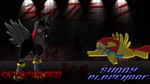 Pony Kombat New Blood 3 Round 3, Battle 2 by Macgrubor