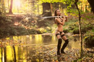 Ninja Forest by artofdan70