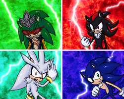 The Four Hedgehogs by grim-zitos