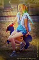 Rainbow Dash cosplay I. - By Purantan by pearlANDblood