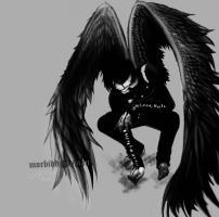 the crow ... by morbid-dystopian