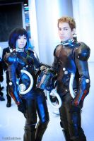 Pacific Rim Cosplay Mako Mori and Raleigh by yukigodbless