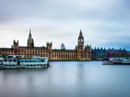Houses of Parliament I by Erinti