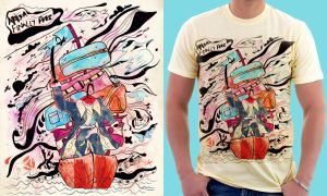 Cap'n Hang'r : Shirt by choppre