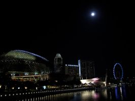Singapore at night by chibi-L8
