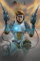 Captain future by rocketraygun