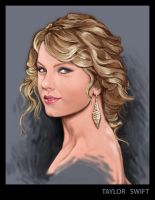 taylor swift by luishadowx