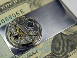 Steampunk Money Clip III by Create-A-Pendant