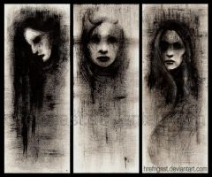 Three Faces by Hrefngast
