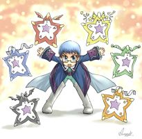 Hubert with All Star by arunrojk