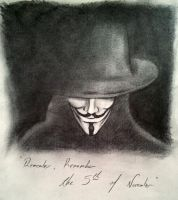 Remember Remember The 5th Of November by gabrielshier