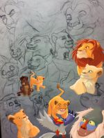 WIP LION KING POSTER by EveHarding92